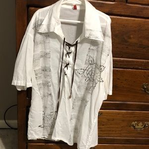 Young Men's Short Sleeve Shirt